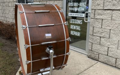 1960 Ludwig 40in Concert Bass Drum Project