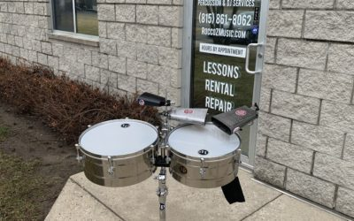 LP Tito Puente Professional Timbales – RENTAL