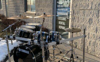 2001 Yamaha Maple Custom Drum Set With Rack – RENTAL/SALE