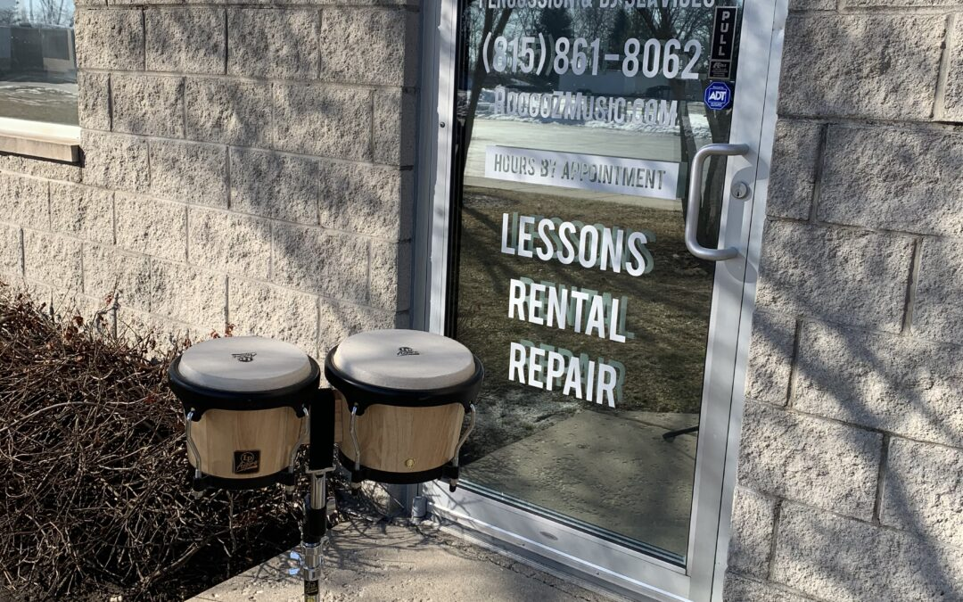 LP Aspire Bongos With Stand – Rental/Sale