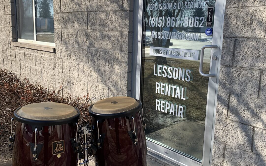 LP Aspire Red Congas – RENTAL/SALE