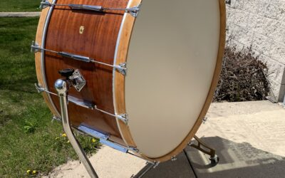 1958 40in Ludwig Concert Bass Drum Restore