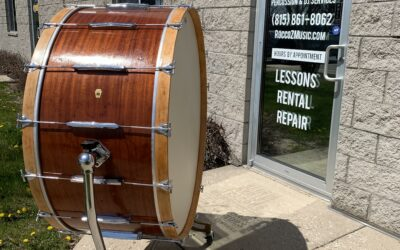 1958 40in Ludwig Concert Bass Drum – RENTAL/SALE