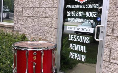 1970's 15in Ludwig Marching Snare Red Sparkle Finish – RENTAL/SALE
