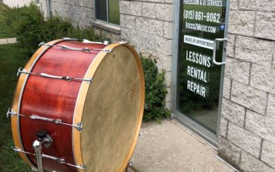 1980's 36in Ludwig Concert Bass Drum W/Stand – RENTAL/SALE