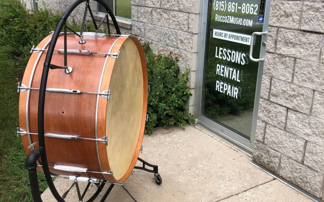 1960's Ludwig 34in Concert Bass Drum W/ Stand – RENTAL/SALE