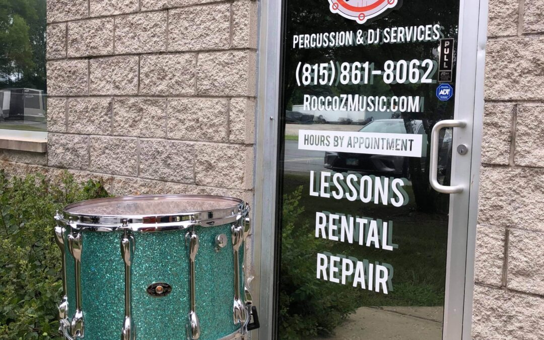 1970's Slingerland Marching Snare Turquoise Glass Sparkle Finish – RENTAL/SALE
