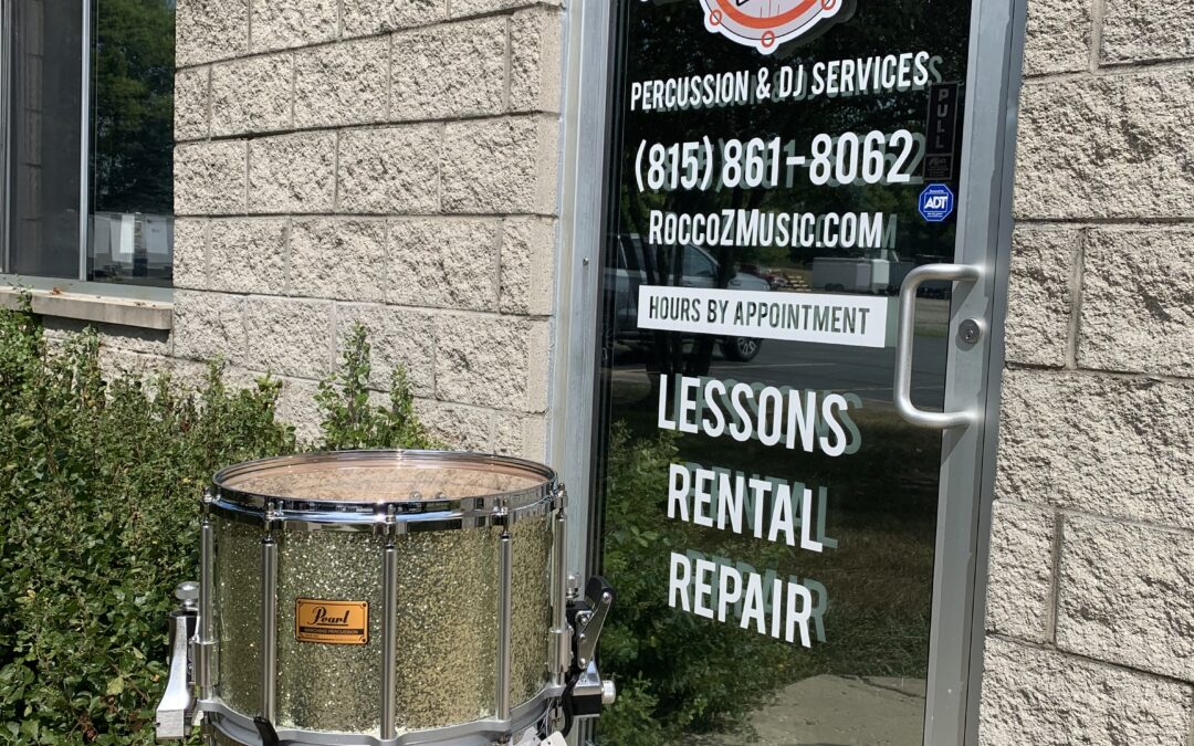 14×10 Custom Ohio State Pearl Marching Snare – RENTAL/SALE