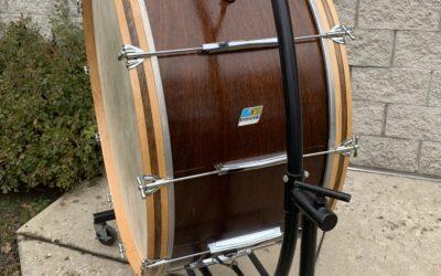 Johnsburg High School Bass Drum Restore
