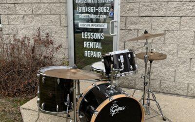 1980's Gretsch Custom Drum Set – RENTAL/SALE