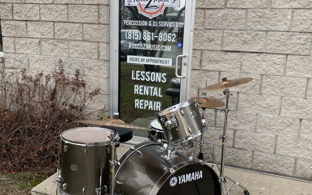 Yamaha Stage Custom Drum Set – RENTAL/SALE