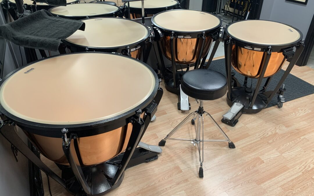 Yamaha 6300 Series Copper Timpani 4/5 Drum Options – RENTAL