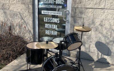 Black Rogue Starter Drum Set (10, 13, 13, 18) – SALE