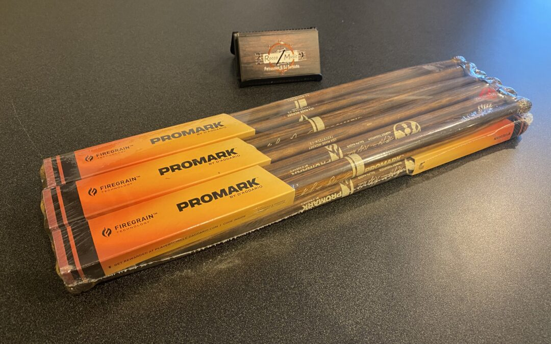 NEW Promark BYOB Ralph Nader Firegrain Drumsticks – SALE