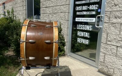 1956 26in Radio King Concert Bass Drum W/Stand